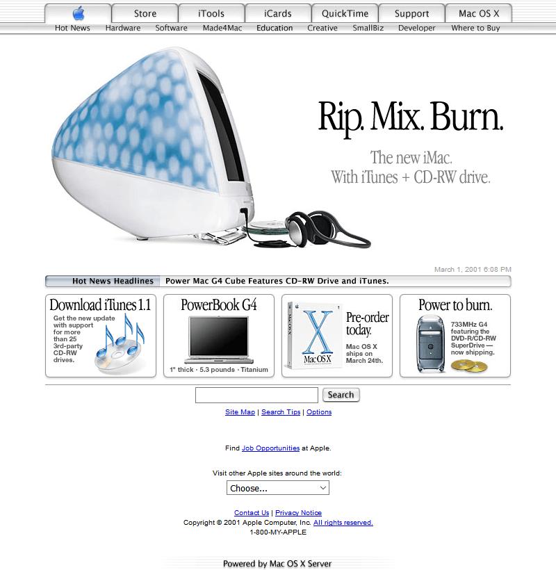 apple-2001
