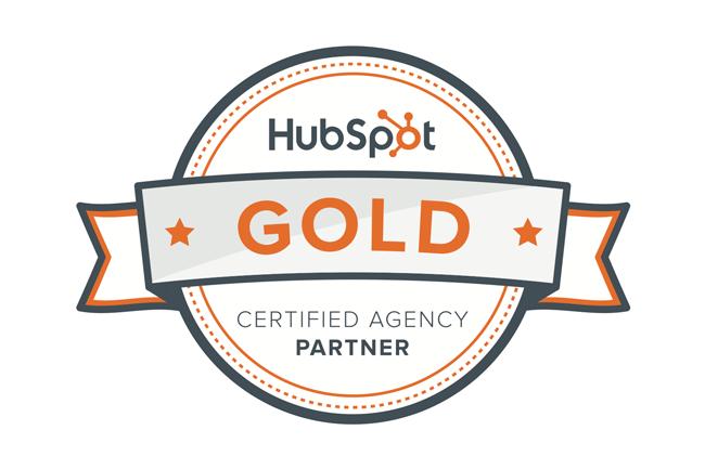 HubSpot Gold Parter
