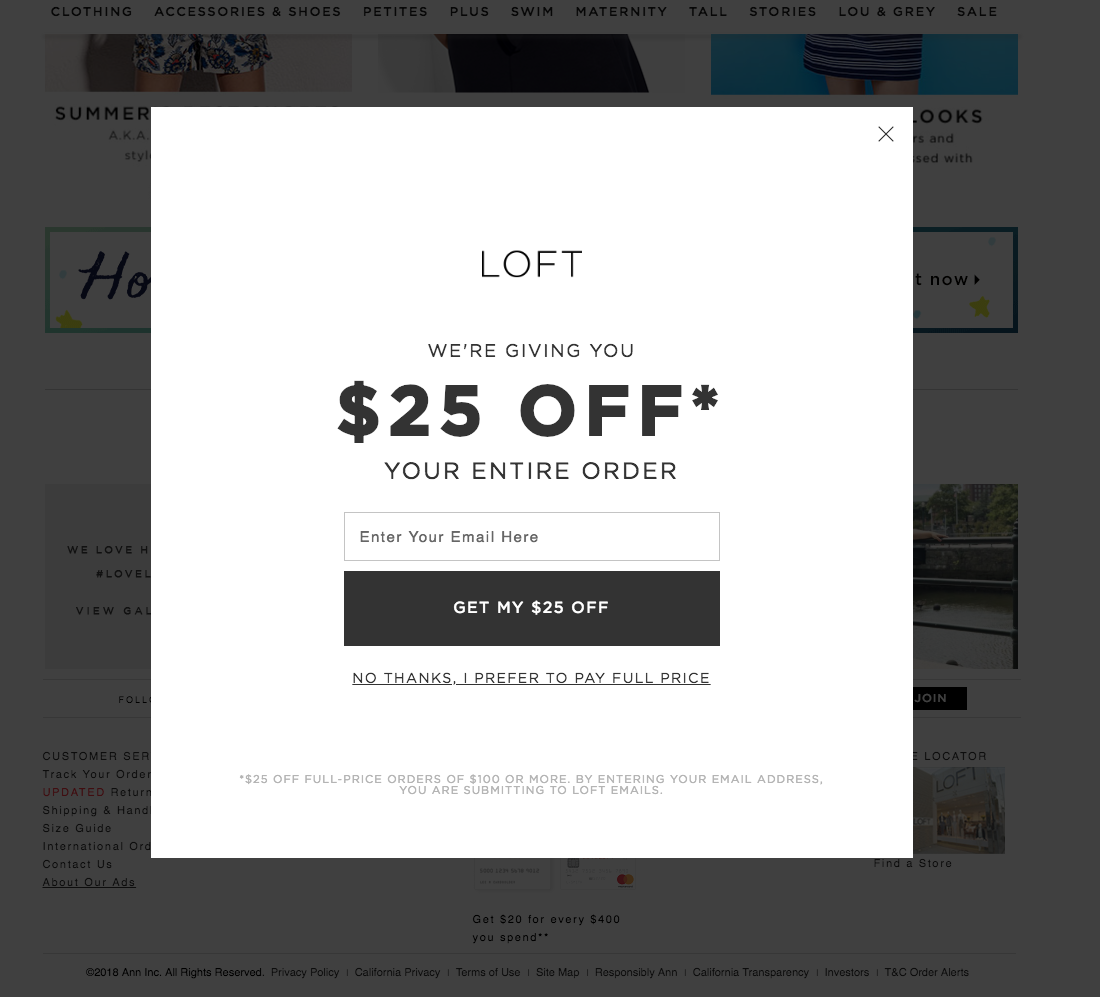 Loft Offer