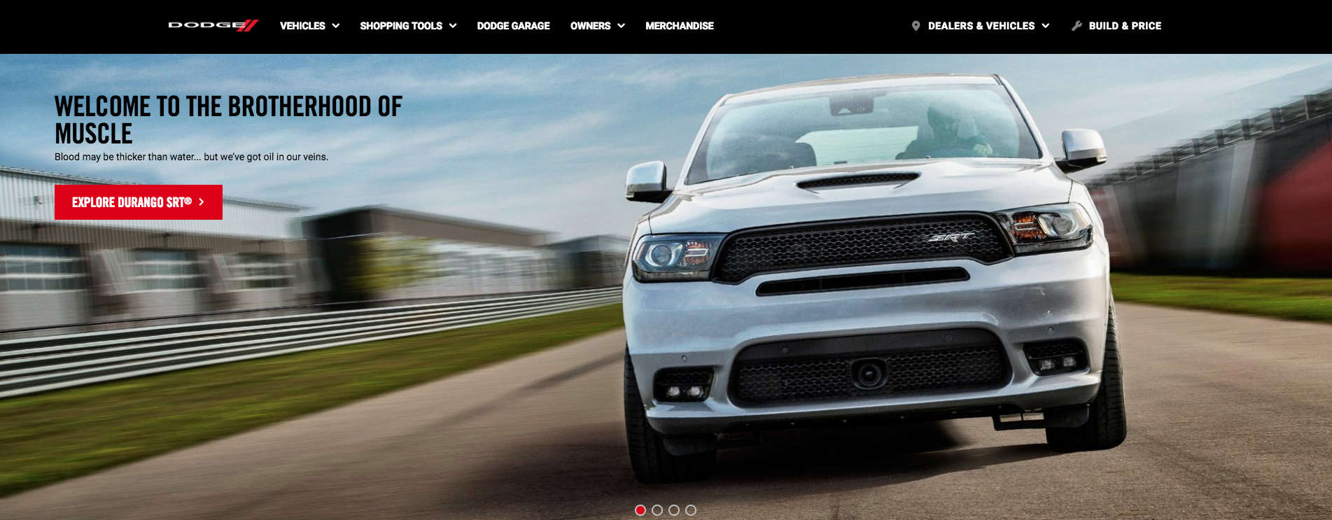 Dodge-Website-Screenshot