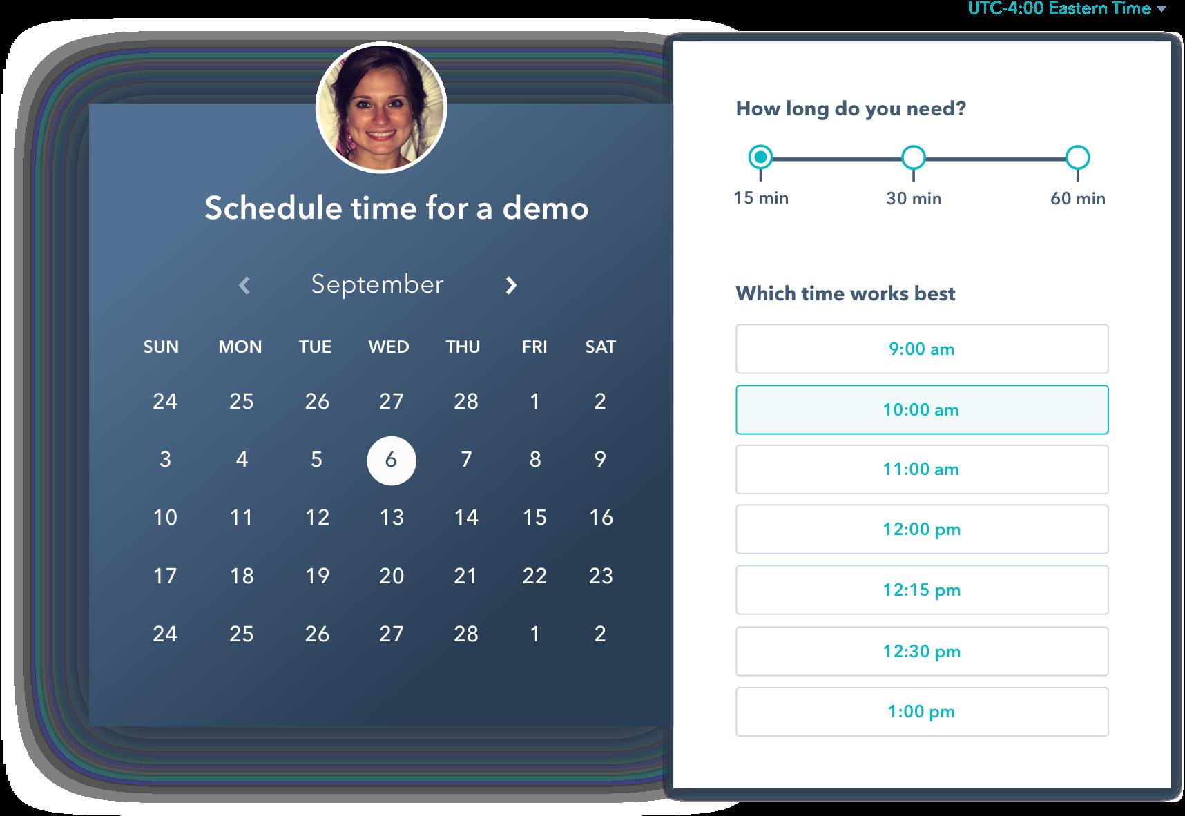 HubSpot Sales - Calendar Meeting Tool